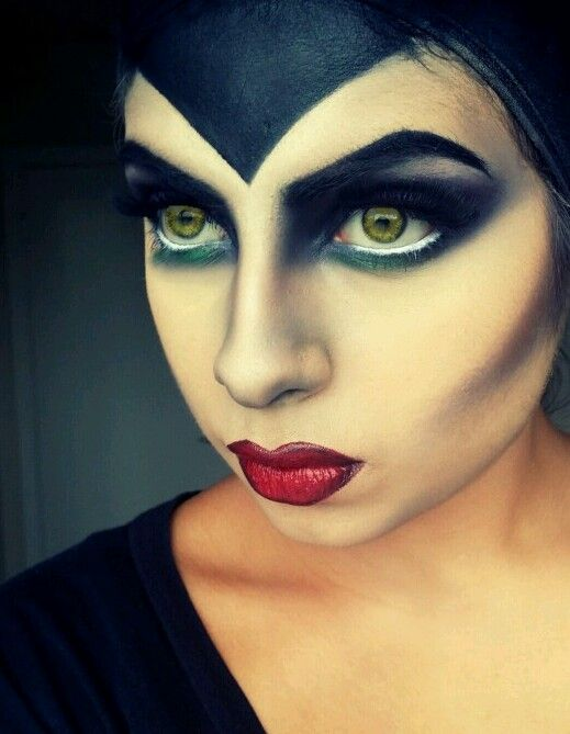 Maleficent makeup maleficent and makeup on pinterest