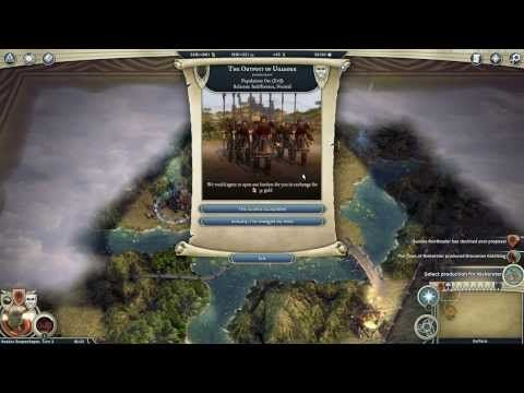 Age of Wonders III Gameplay Video - Archdruid, Random Map Generator - http://leviathyn.com/news/2014/02/14/age-wonders-iii-gameplay-video-show-archdruid-random-map-generator/