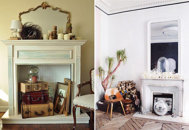 Теплые ассоциации, или фальш-камин в интерьере: 7 способов декора