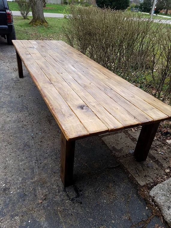 Rustic Farm Table 12 Foot Reclaimed Wood Farm House Primitive Rustic Farm Table Farm Table Rustic Farmhouse Table