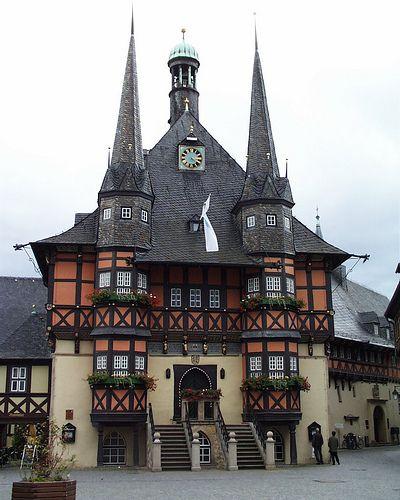 Wernigerode Rathaus, Germany.  <3 Deutchland, <3 Deutchland, <3 Deutchland!!!
