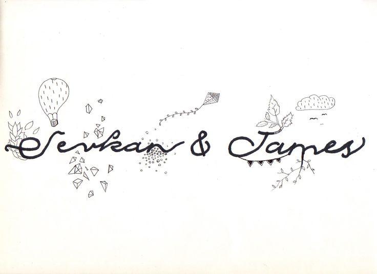 Title design for Sevkan wedding film