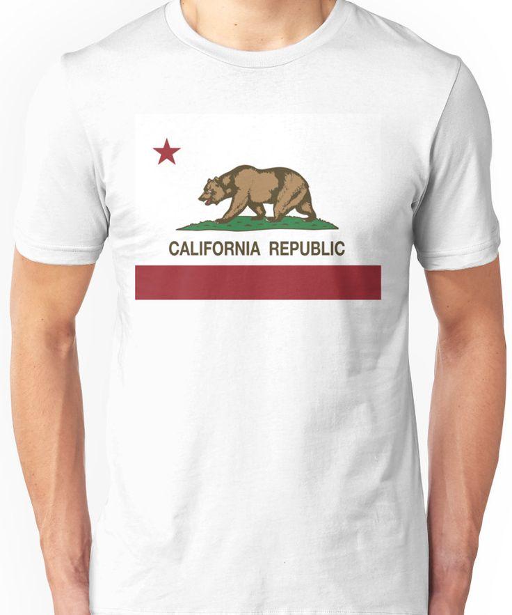 California Republic Flag Unisex T-Shirt