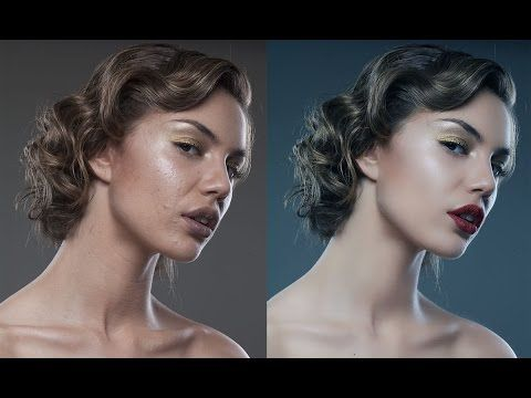 Photoshop tutorials: Skin retouching - Special technique