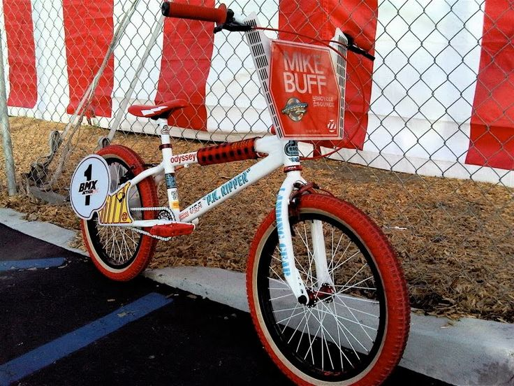 Crank King Vintage & Old School BMX Clothing - Kuwahara, Hutch, Redline, Mongoose: Mike Buff P.K. Ripper Tribute