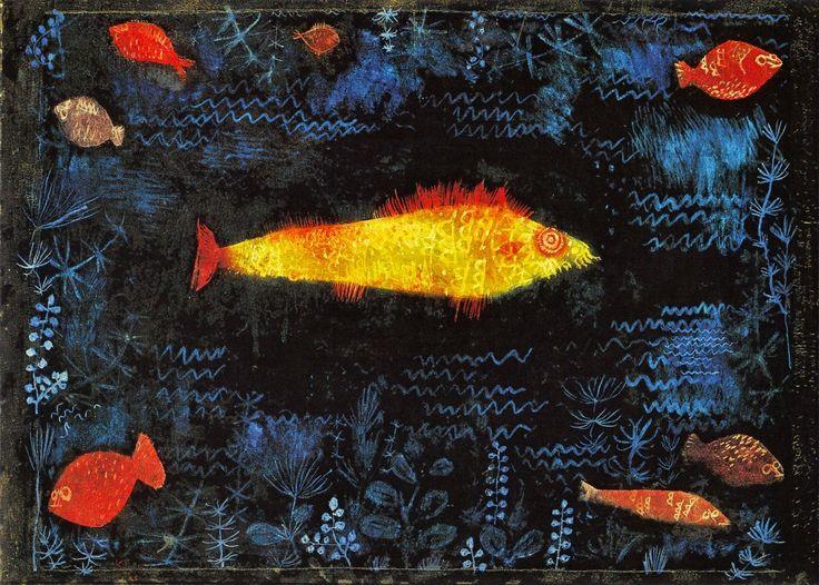 * Le poisson d'or 1925 - Paul Klee