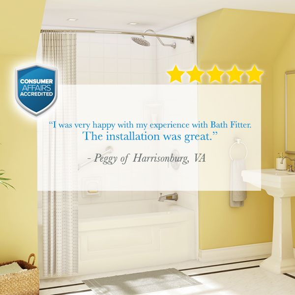 Bathroom Makeover Quotes 76 best bath fitter customer quotes images on pinterest | customer