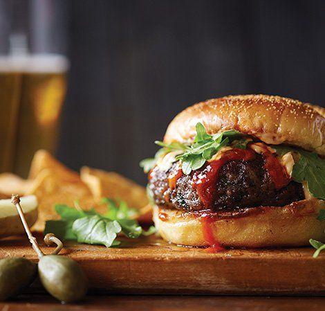 Black Bean Burgers with Sriracha Aioli | Vitamix