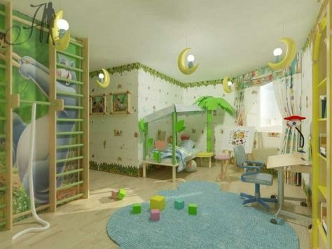 Love this room. So creative and fun!!