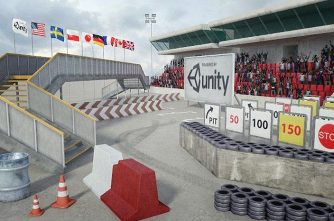 Race Track Const. Kit: Add-on A by RivermillStudios on @creativemarket