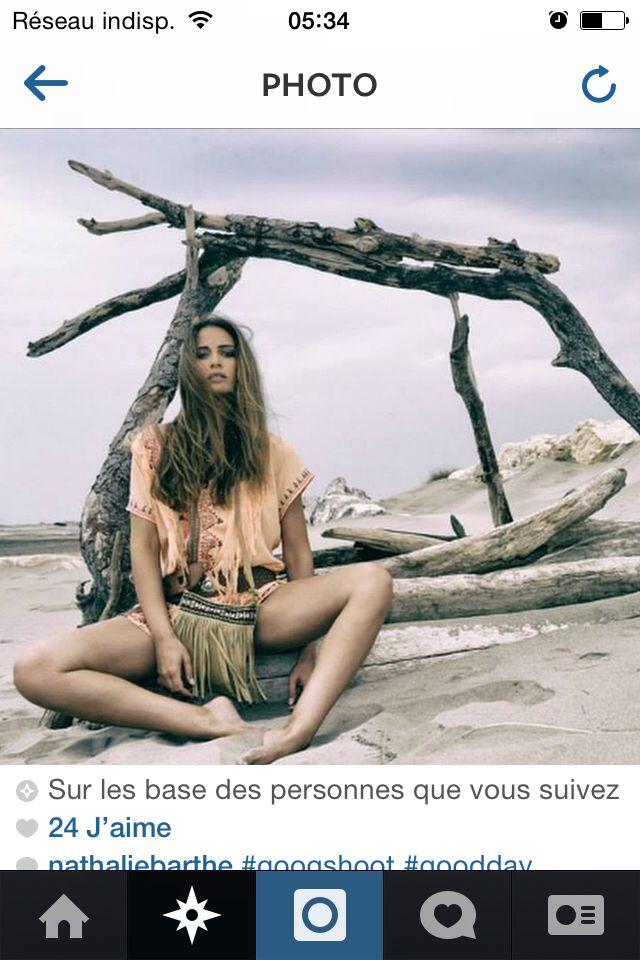 Mode extérieur hippie style