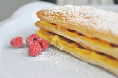 Sugar & Everything Nice: Raspberry Mille-Feuille
