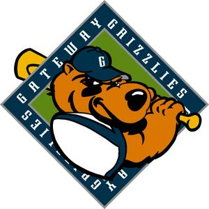 2001, Gateway Grizzlies, (Sauget,Illinois), Stadium: GCS Ballpark #GatewayGrizzlies #SaugetIllinois #FrontierLeague (L5253)