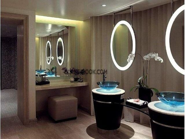 Die besten 25+ Bluetooth bathroom mirror Ideen auf Pinterest - modernes design spa hotel