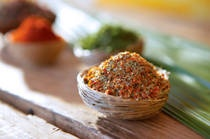 Mike's Magic Dust --  Love this rub on all things MEAT!  Great for rotisserie chicken and ribs!