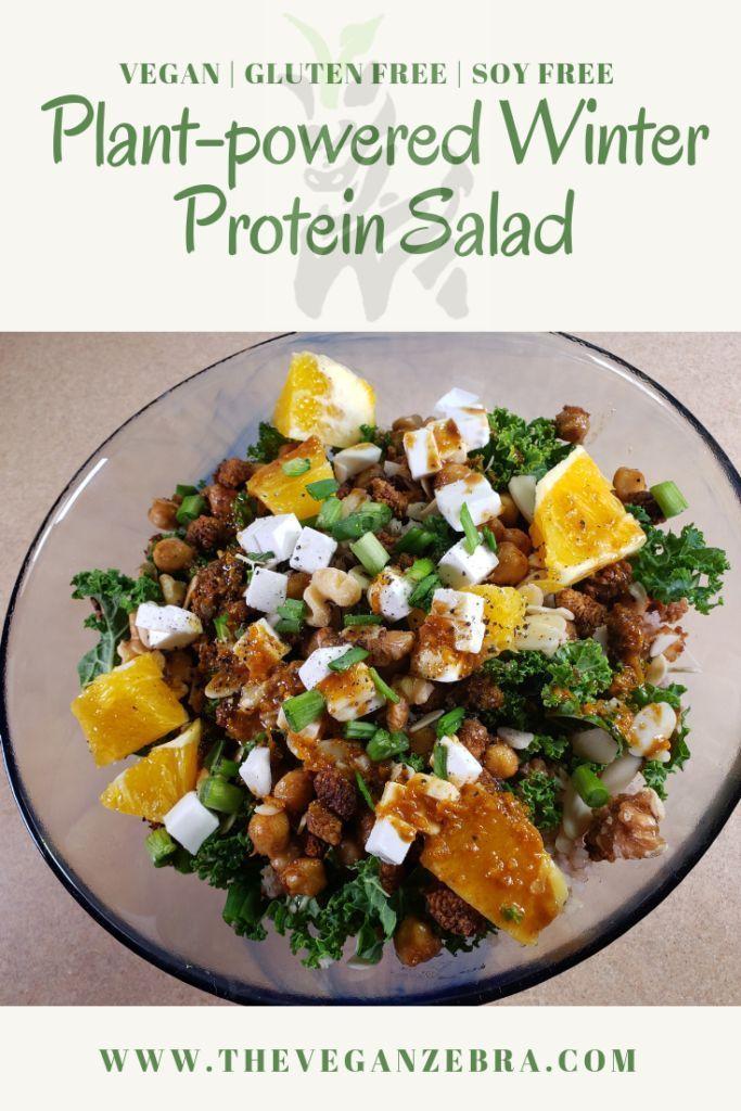 Vegan Winter Protein Salad