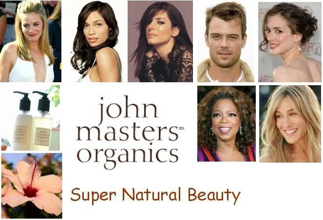 Se così tante persone (compresi molti VIP) hanno scelto John Masters Organics per prendersi cura della propria bellezza, un motivo ci sarà! Forse perchè è un marchio cruelty free... forse perchè i prodotti John Masters sono in linea con l'etica vegan... forse perchè John Masters Organics è l'unico marchio al mondo a poter certificare L'ASSOLUTA ORGANICITA' DI TUTTI I SUOI PRODOTTI per capelli, viso e corpo!