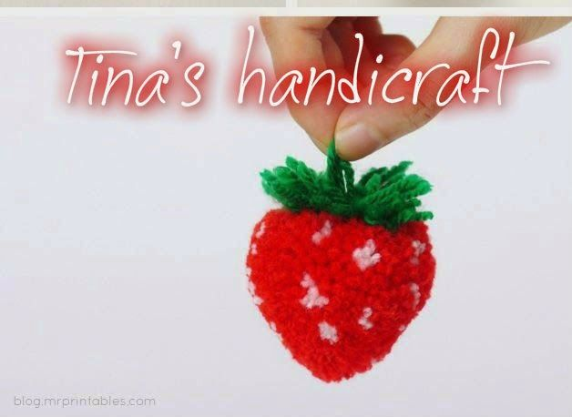 Tina's handicraft : strawberry
