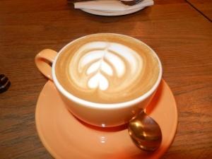 Latte at Waterloo Gardens, Cardiff   http://www.waterlootea.com/