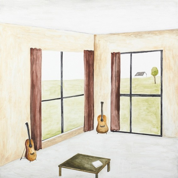 Room with two guitars, Te Miro by Noel McKenna