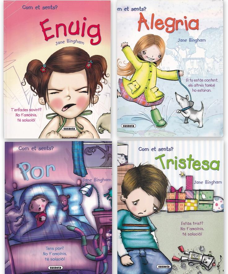 http://petitsgransartistes.blogspot.com.es/2012/04/contes-recomanats-treballant-les.html Cuentos para trabajar las emociones con los más pequeños.