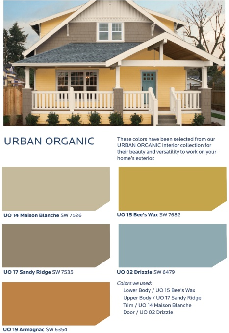 Celebrate the revival of urban living with a fun eclectic collection of colors that feature a for Sherwin williams exterior color palette