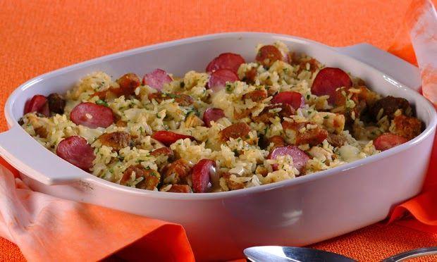 kikipoucagrana.com: arroz de lentilha com calabresa