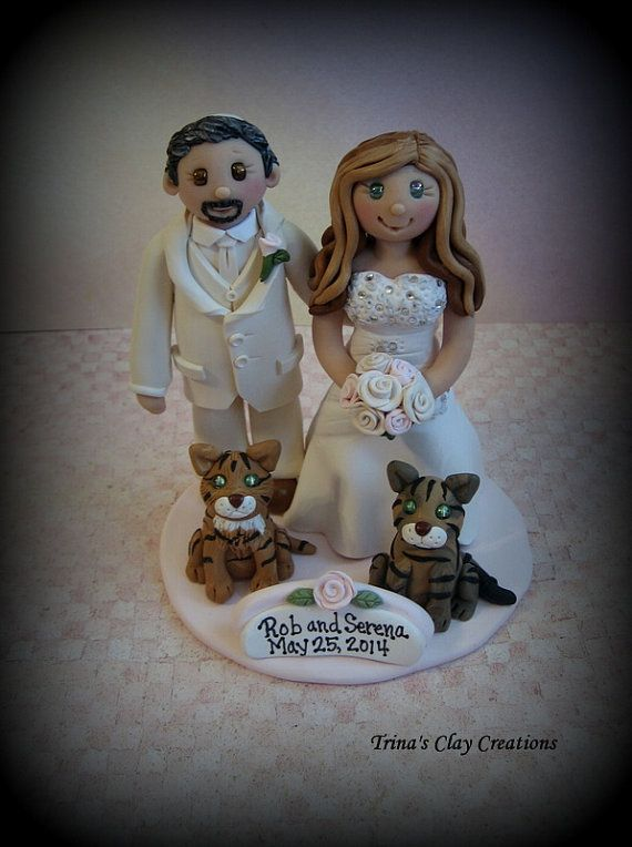 Hey, I found this really awesome Etsy listing at https://www.etsy.com/listing/179103010/wedding-cake-topper-custom-personalized