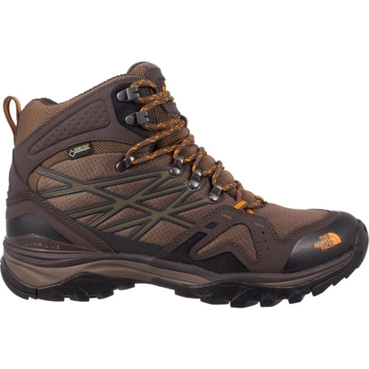 The North Face Men's Hedgehog FastPack Mid Gore-TEX Hiking Boots, Size: 13.0MEDIUM, Brown