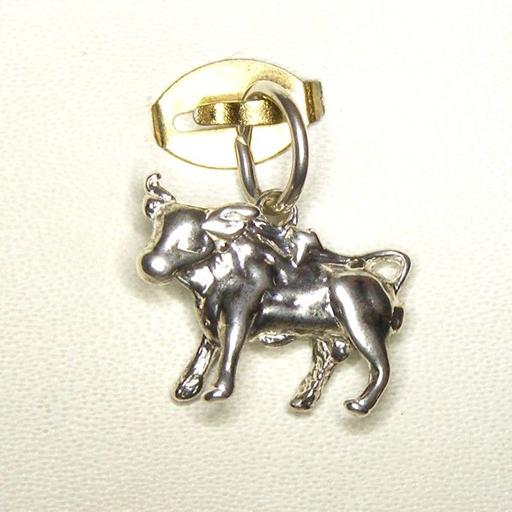 Buy Taurus Charm (chr-1193) online at Chain Me Up