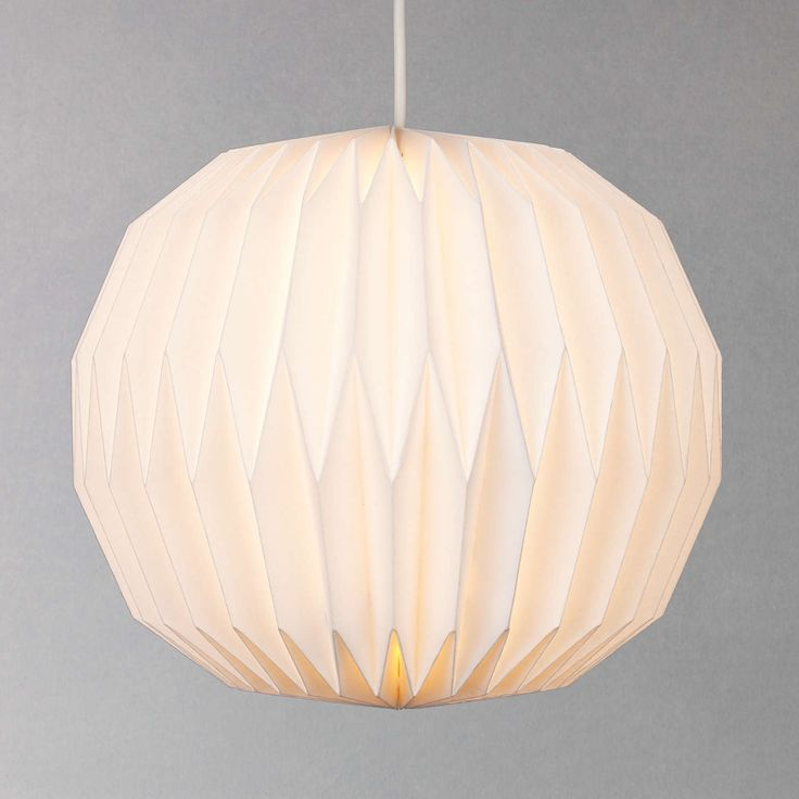 BuyHouse by John Lewis Issie Easy-to-Fit Ceiling Shade, White Online at johnlewis.com