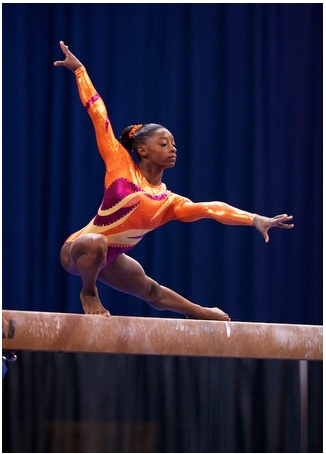 Simone Biles US Gymnastics should be in excellent hands in 2016. I hope all the 2012 team accomplished will not entitle some to just show up and be added to the team. This Young lady who won the 2013 P all-around championship last weekend has the demeanor and definitely skillset to take her to Rio. BTW she defeated 2 members of the Fierce Five also