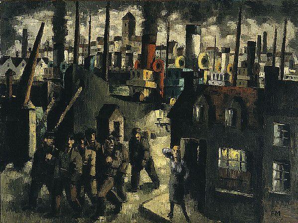 Harbor City, 1928 by Frans Masereel (Belgian 1889 - 1972)