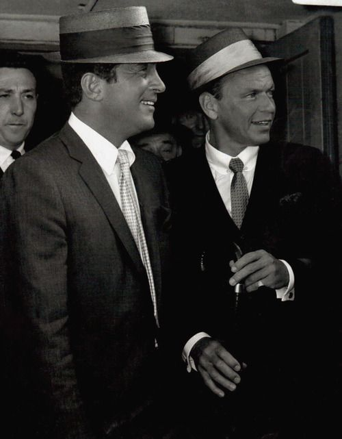 Dean Martin and Frank Sinatra