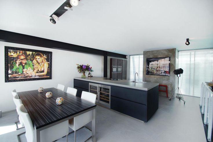 ... cucine by art design keukens www.artdesignwonen.nl #loft #rotterdam
