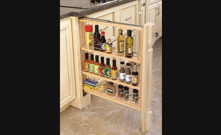Fileur coulissant pour armoire de cuisine du bas for Decoration armoire de cuisine