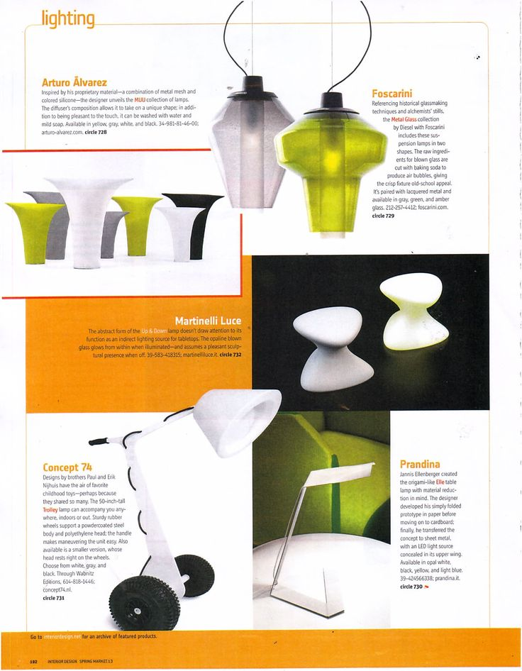 bollard the new table lamp by michel boucquillon for martinelli luce