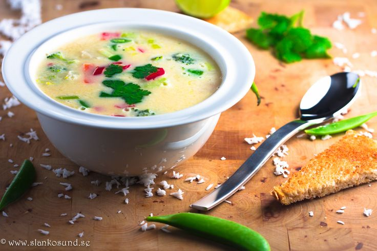 Thaisoppa Med Kokos Och Kyckling #thaisoppamedkokosochkyckling #thai #thaisoppa #soppa #kokos #kyckling #soppan #soup #slankosund