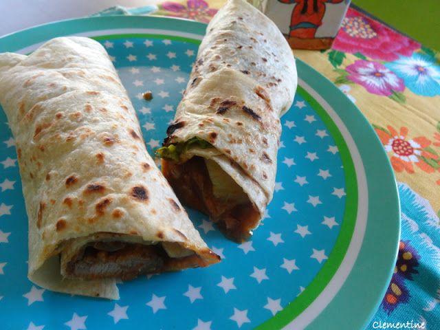Le blog de Clementine: Enchiladas de porc
