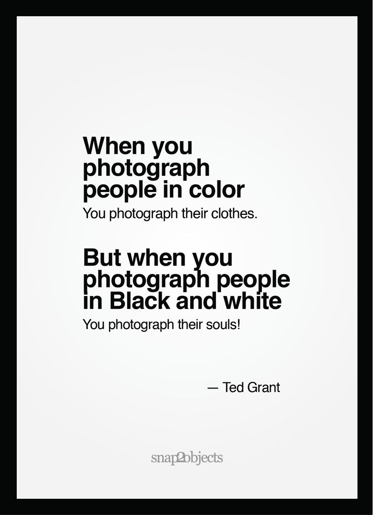 Color Vs Black and white - Brutal Truth