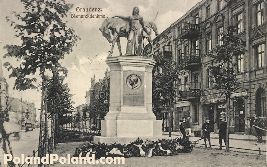 Old Pictures of Poland Grudziadz Grudziądz Graudenz