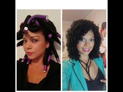 6 Peinados, peinados faciles para cabello crespo, rizado o afro Parte 2 - YOLIANA GAMBOA - YouTube