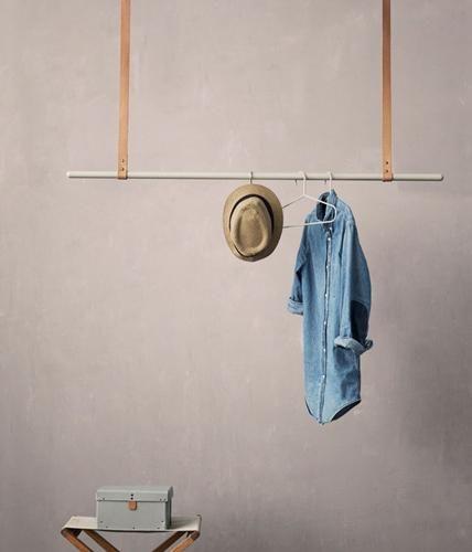 Wohin mit Jacken und Mänteln? Am besten an diese schicken und originellen Garderoben, die in einem noch so kleinem Flur Platz finden.