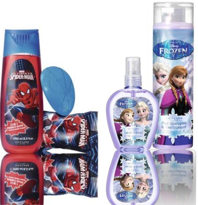 #christmas #spiderman #frozen #oriflame