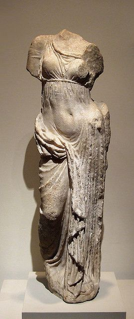 Marble Sculpture of Aphrodite in the Metropolitan Museum of Art - Greek, Hellenistic, 2nd century BC