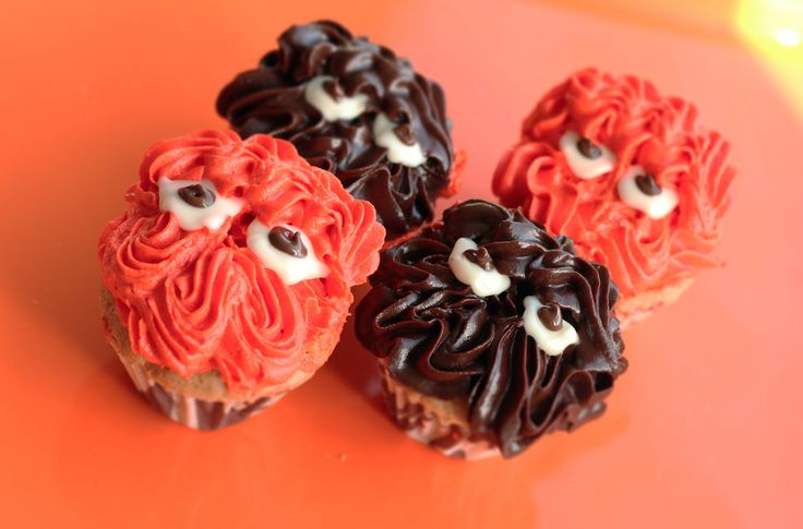 Mini cupcakes de Blondy
