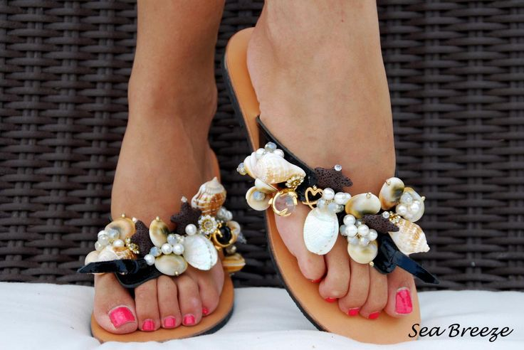Sea Breeze Flip-flop! Just perfect for your summer holidays! Bonbon Sandals