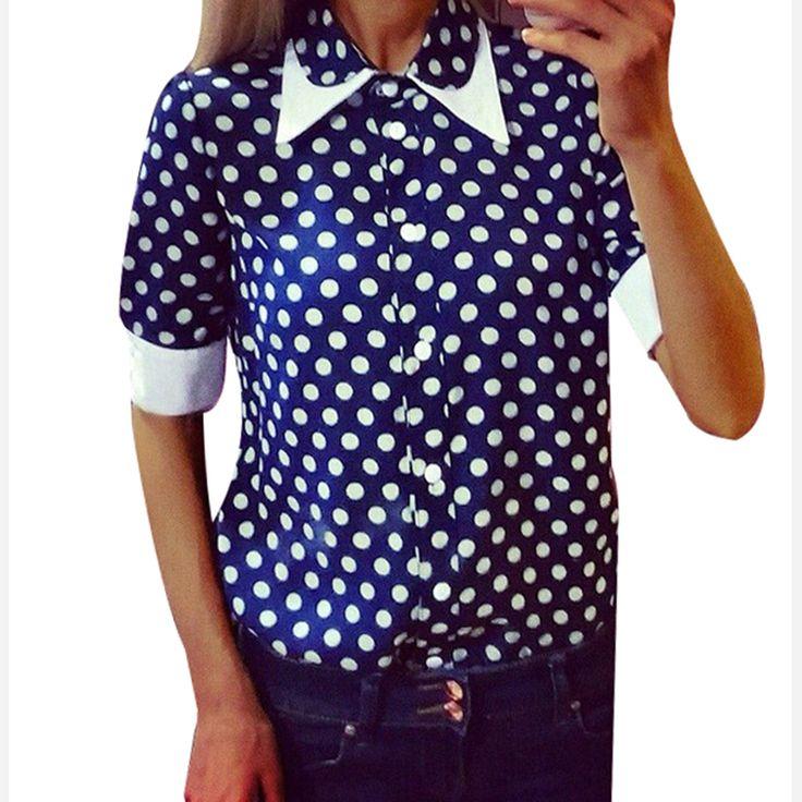 Купить товарЖенская половина рукава рубашка женская блузка питер пэн воротник рабочая одежда формальный офис пр кнопка размер XXL блузка рубашки QAF211C в категории Блузки и рубашкина AliExpress.                     Вы также можете любовь: (больше скидка, пожалуйста, нажмите на картинку ^ ^)