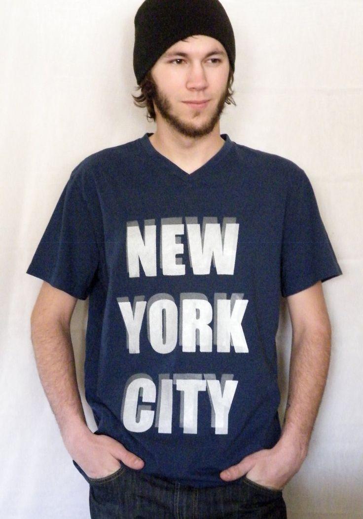 New York City DIY screen printing project using EZScreenPrint silk screen supplies on custom t-shirt