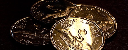 Lucky loonie? (The Canadian Press)